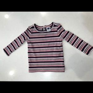 Baby girl's long sleeve shirt